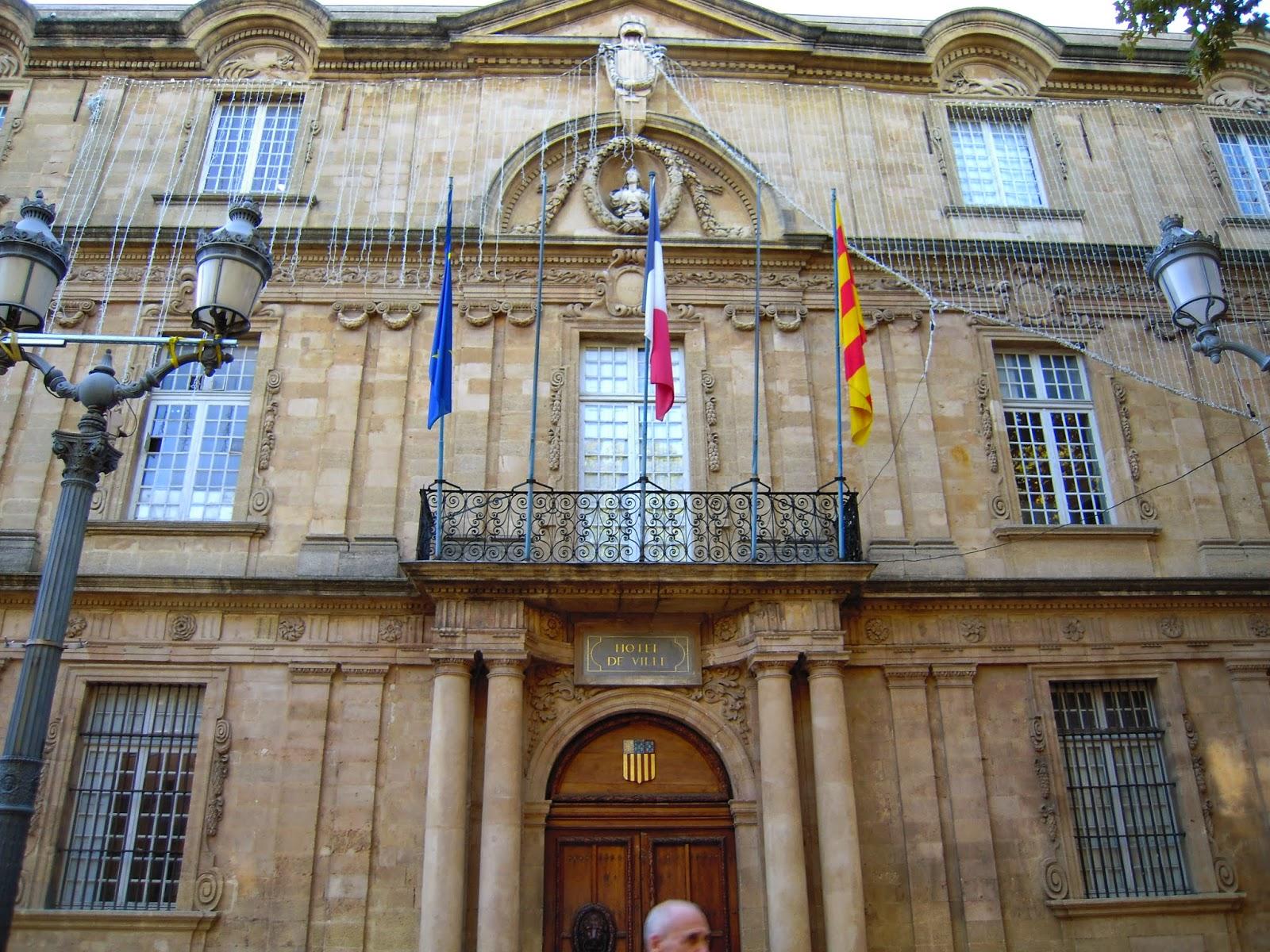 hôtel de ville aix en provence