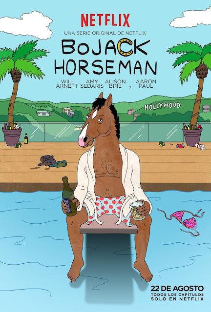 bojack horseman cartel poster pool piscina