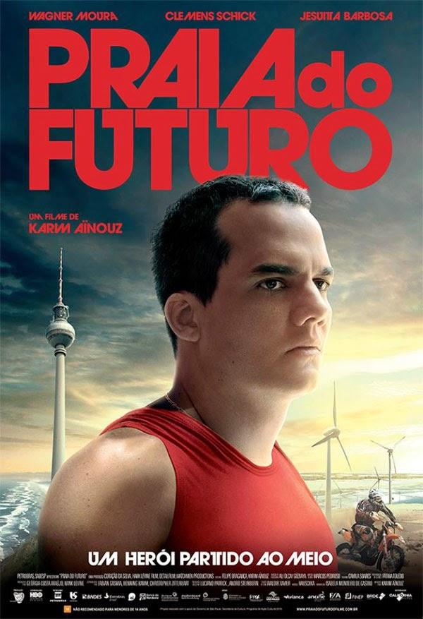 "Poster do filme ""Praia do Futuro"""
