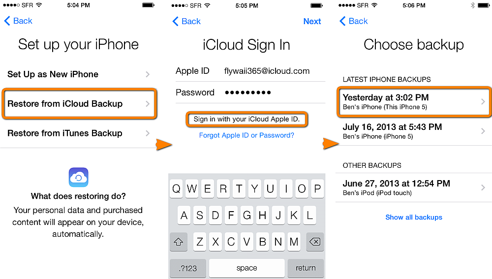 How can i change my iphone 5 passcode