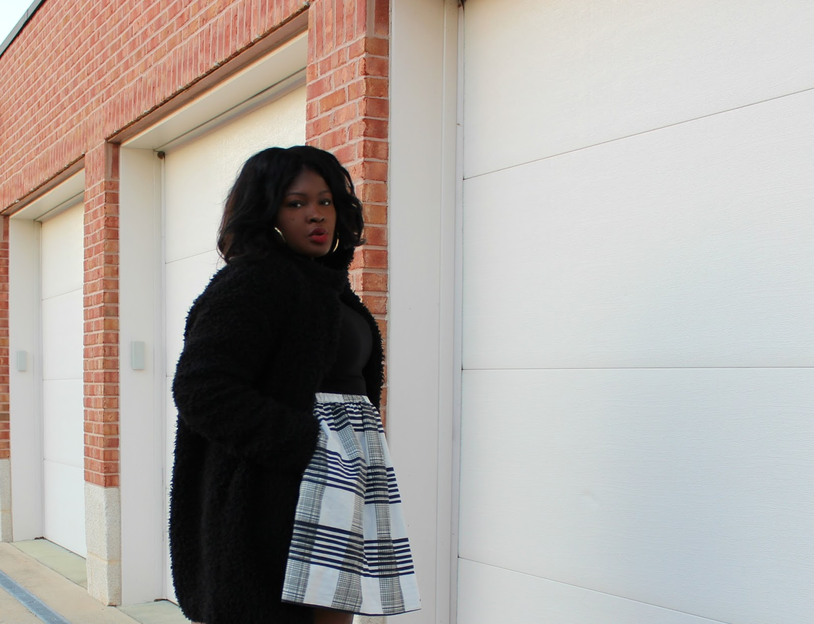 HOW TO WEAR A PLUS SIZE FUR COAT