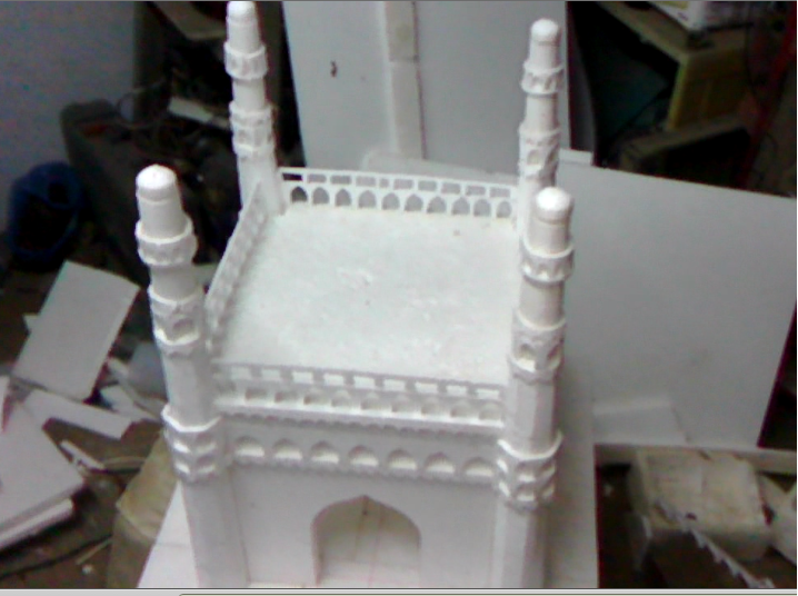 Homemade Model of Charminar, Hyderabad picture, images, photos