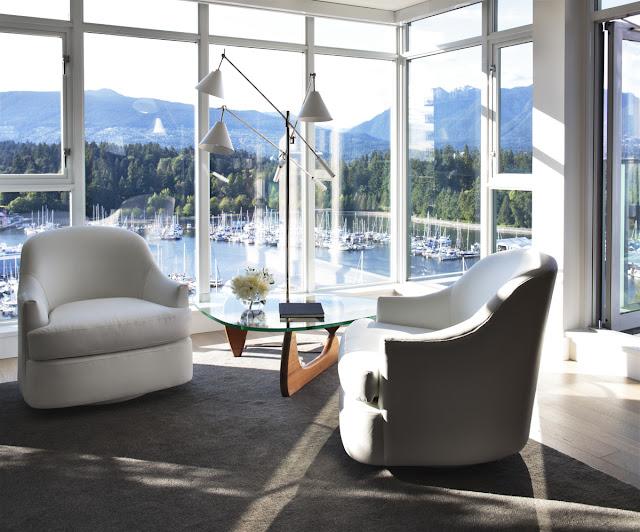 Patricia Gray Award Winning Condominium Interior Design Vancouver