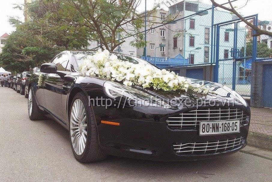 Cho thuê xe cưới Aston Martin Rapide - siêu xe chuyên nghiệp tại Hà Nội 1
