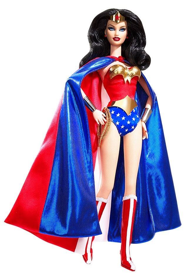 Barbie as Wonder Woman