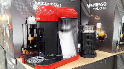 Nespresso Vertuoline with Aeroccino Plus – Great tasting coffee without leaving the comforts of home