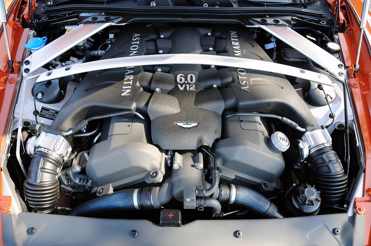 2012 ASTON MARTIN VIRAGE ENGINE SPECS