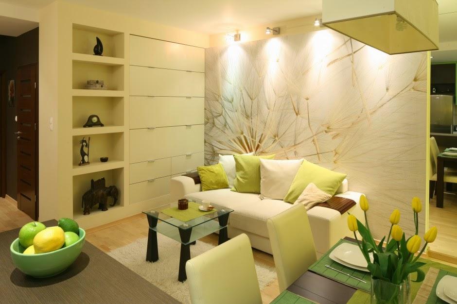 White Interior Design Ma E Mieszkania W Bloku