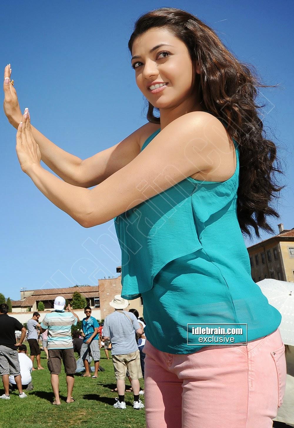 Kajal Agarwal dancing