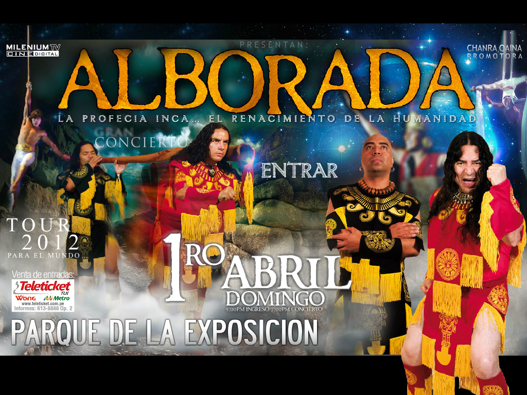 Página web de Alborada www.alboradaperu.com