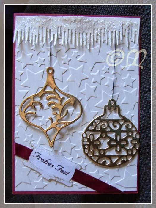 Mein garten und ich und noch zwei weihnachtskarten - Aldi weihnachtskarten ...
