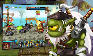 Screenshots of the Little Clan for Android tablet, phone.