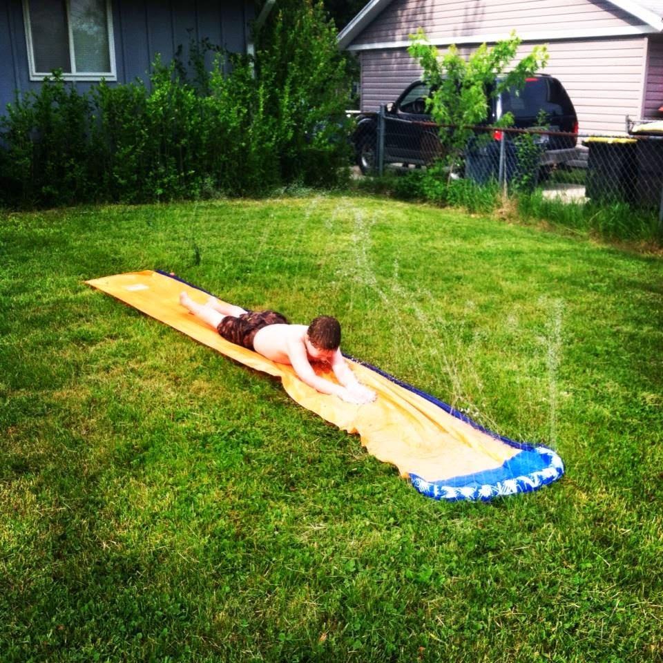 fun backyard activities with fruit shoot #fruitshoot #stunthunt