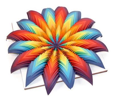 Koleksi Hasil Origami [Seni Melipat Kertas] Mengagumkan karya Jen Stark