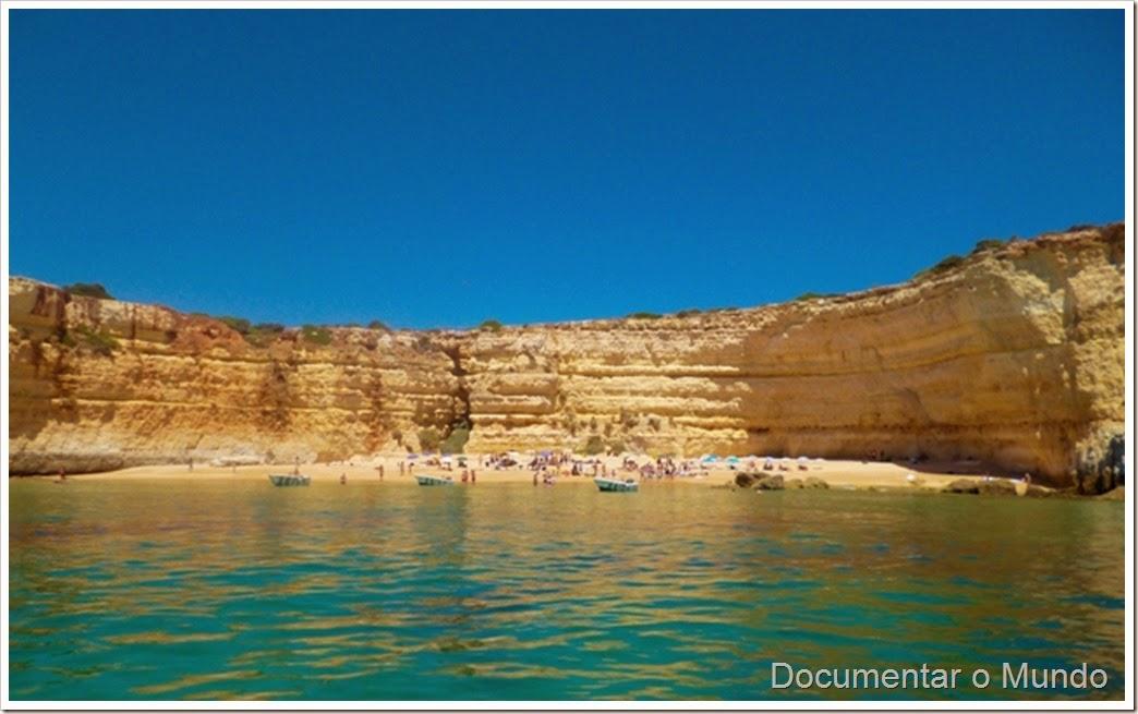 Praia do Pontal; Férias Algarve; Grutas Marinhas; Sea Caves; Grotten Fahrt