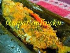 resep pepes ikan mas bumbu ulek