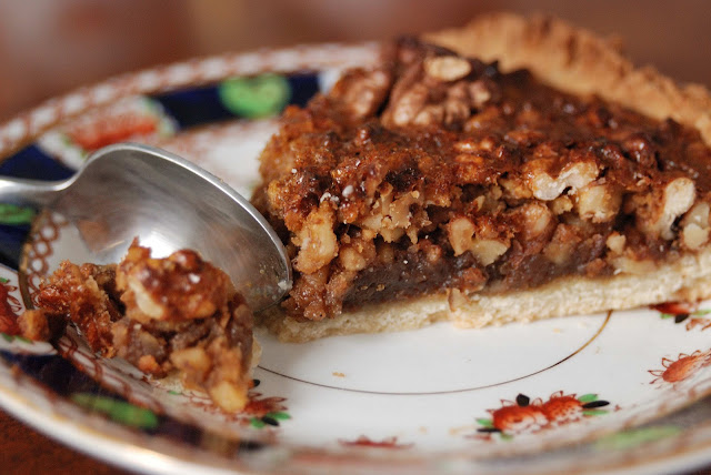 recipe homemade walnut pie