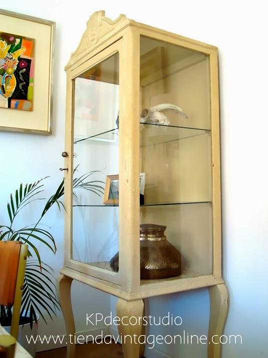 Comprar vitrina antigua de médico principio de siglo. decoración vintage. estilo rústico