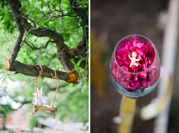 fairy garden, fairy swing,