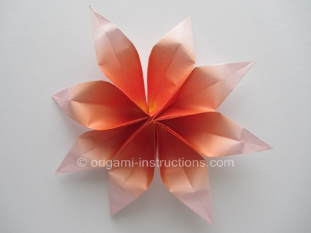 Origami Instructions Origami 2 Unit Flower