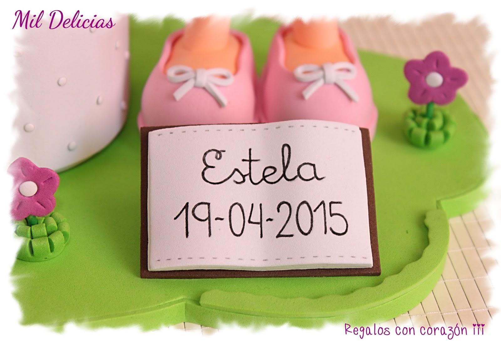 Fofucha comunion Estela