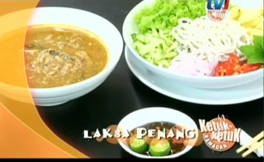 Ketuk-ketuk Ramadan 2014 bersama Almy Nadia, Tesco Extra Bandar Baru Bukit Puchong, Kerabu Petai Jeruk, Laksa Penang