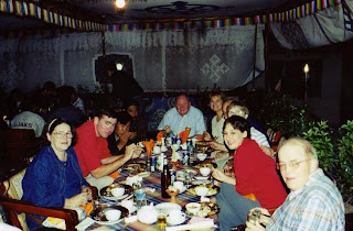 Moran participated in Study Abroad programs at SHSU, such as this trip to China and Tibet.