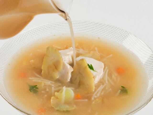 sopa castanas