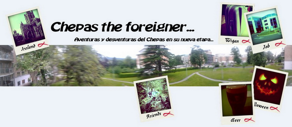 "Chepas ""The foreigner"""