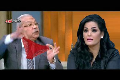 سمير صبرى لسما المصرى عاوزة تدخلى البرلمان  كلوت أحمر