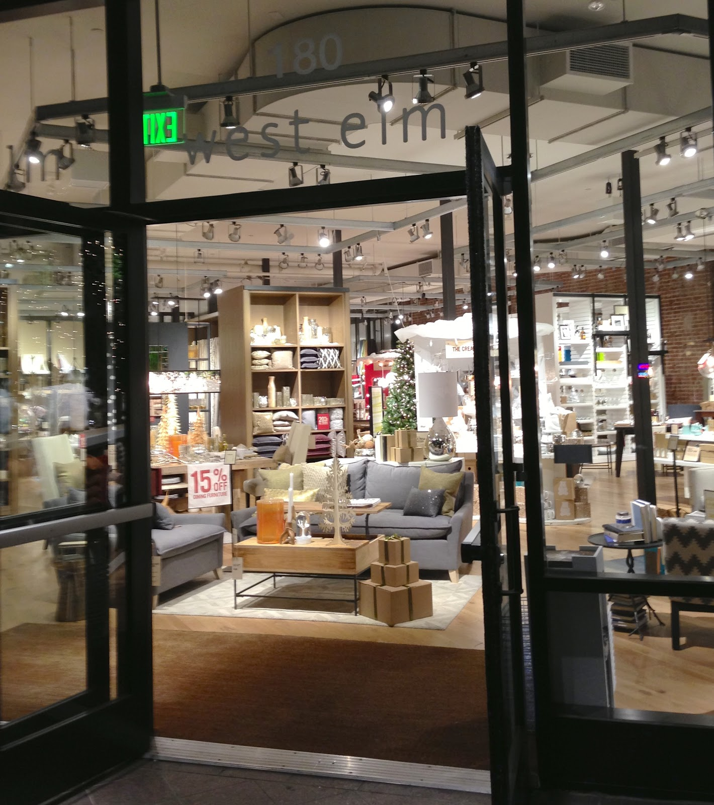the new west elm at 180 university ave