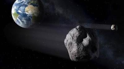 NASA: CUATRO ASTEROIDE ROZARAN LA TIERRA HOY 01 DE ABRIL DE 2013