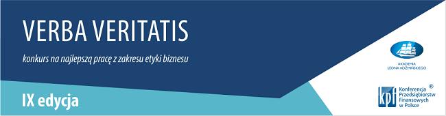 Grafika reklamujące IX edycję konkursu Verba Veritatis