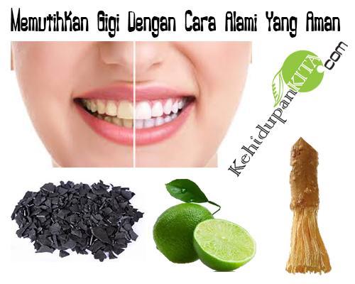 Memutihkan Gigi Dengan Cara Alami Yang Aman