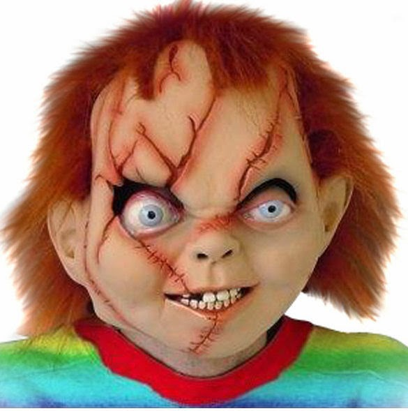 Halloween, Maquillaje Chuky