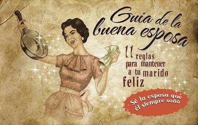 """""""Guía de la buena esposa - 11 reglas para mantener a tu marido feliz"""" - supuestamente publicado en 1953 por la Sección Femenina de Falange Española de las JONS Image1"""