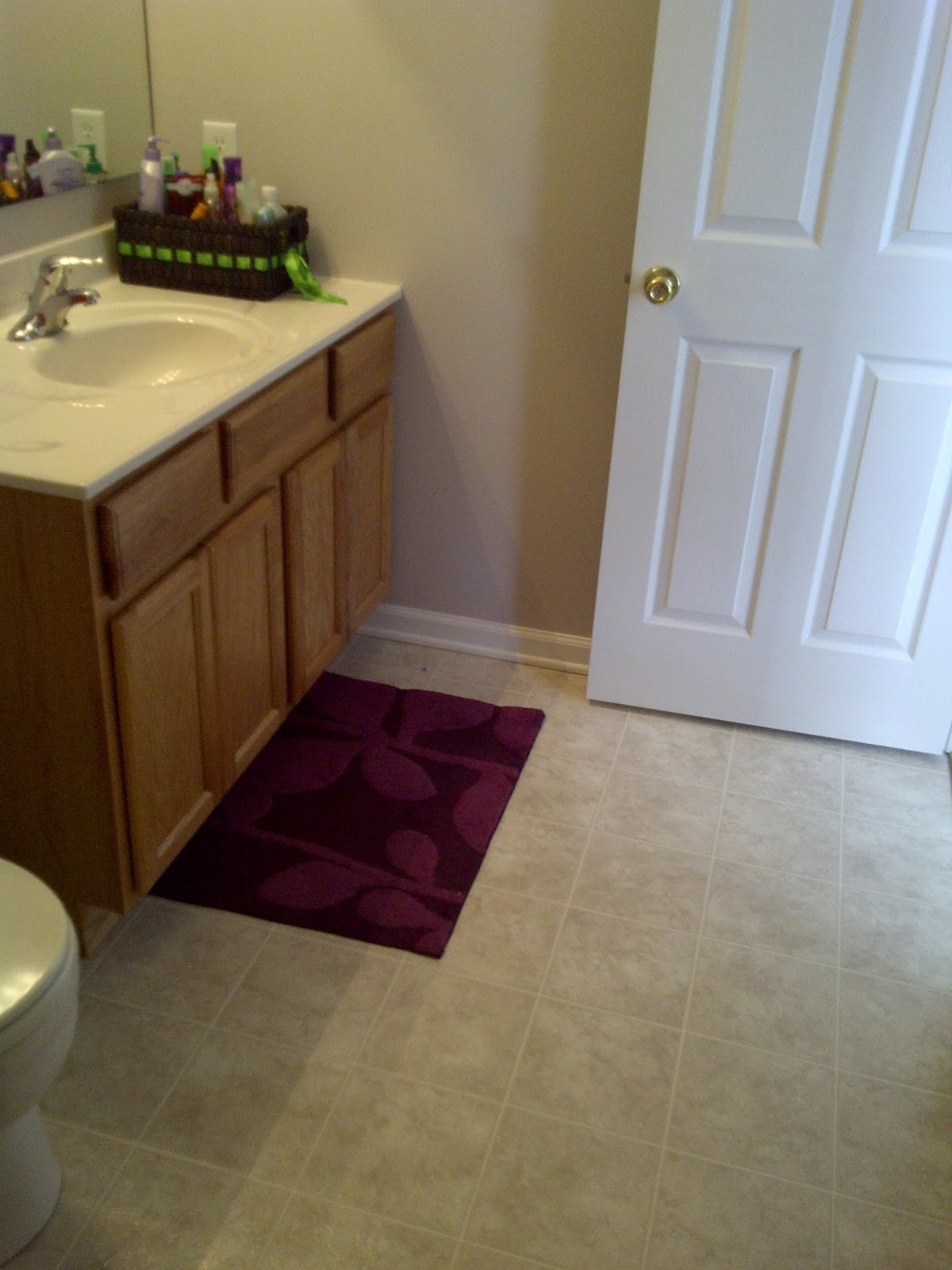 Misadventures in diy bathroom vanity oakness makeover