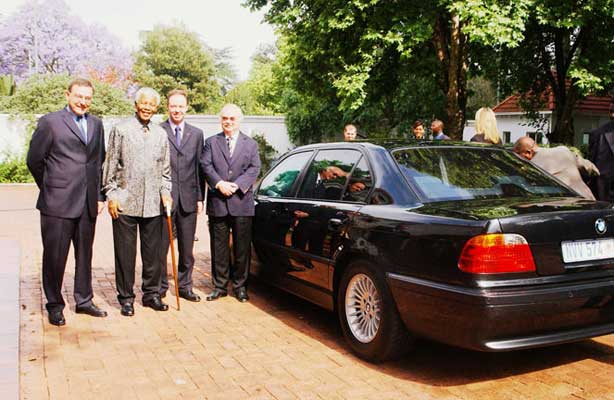 Nelson Mandela BMW 7-Series Donated to Charity