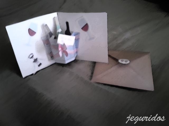 Tarjeta para el dia del padre pop-up 3D