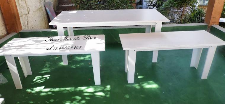 Conjuntos de mesas provençais Unissex