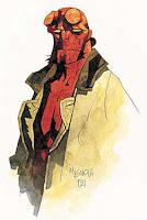 Desenho de Hellboy