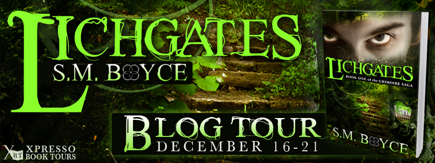 Lichgates by S.M.Boyce Blog Tour