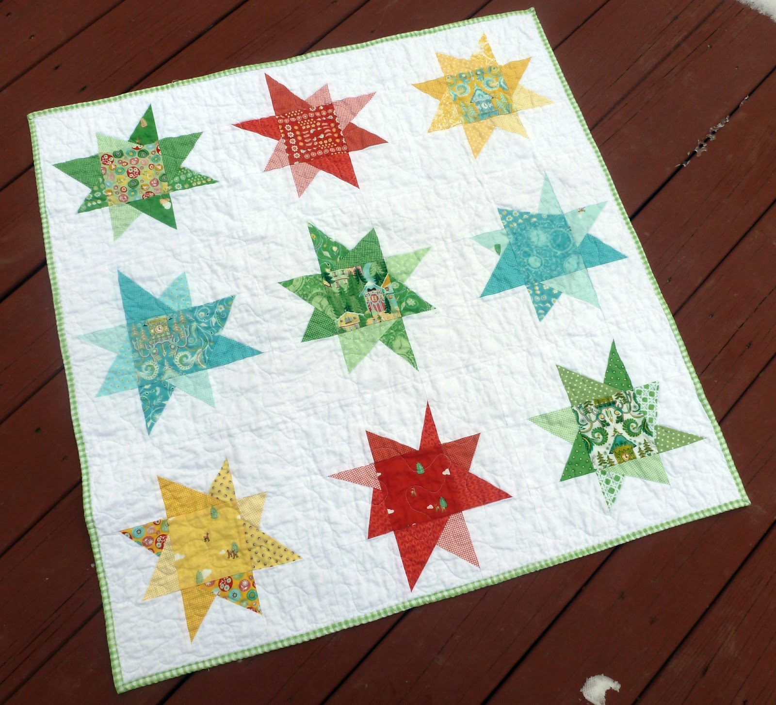 GenXQuilters: Modern Traditional Quilting, Block of the Month Sampler Quilt Patterns AnneMarie ...