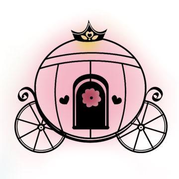 Carruaje De Princesa En Imagen Y Dibujo Cosas De Princesa