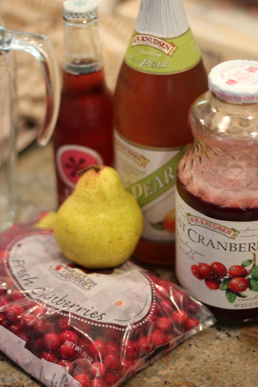 bottle Sparkling Pear Juice (Pear flavored sparkling cider)