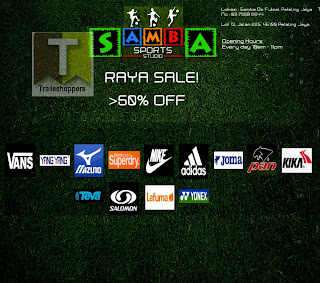 Samba Sports Studio Raya Sale 2013