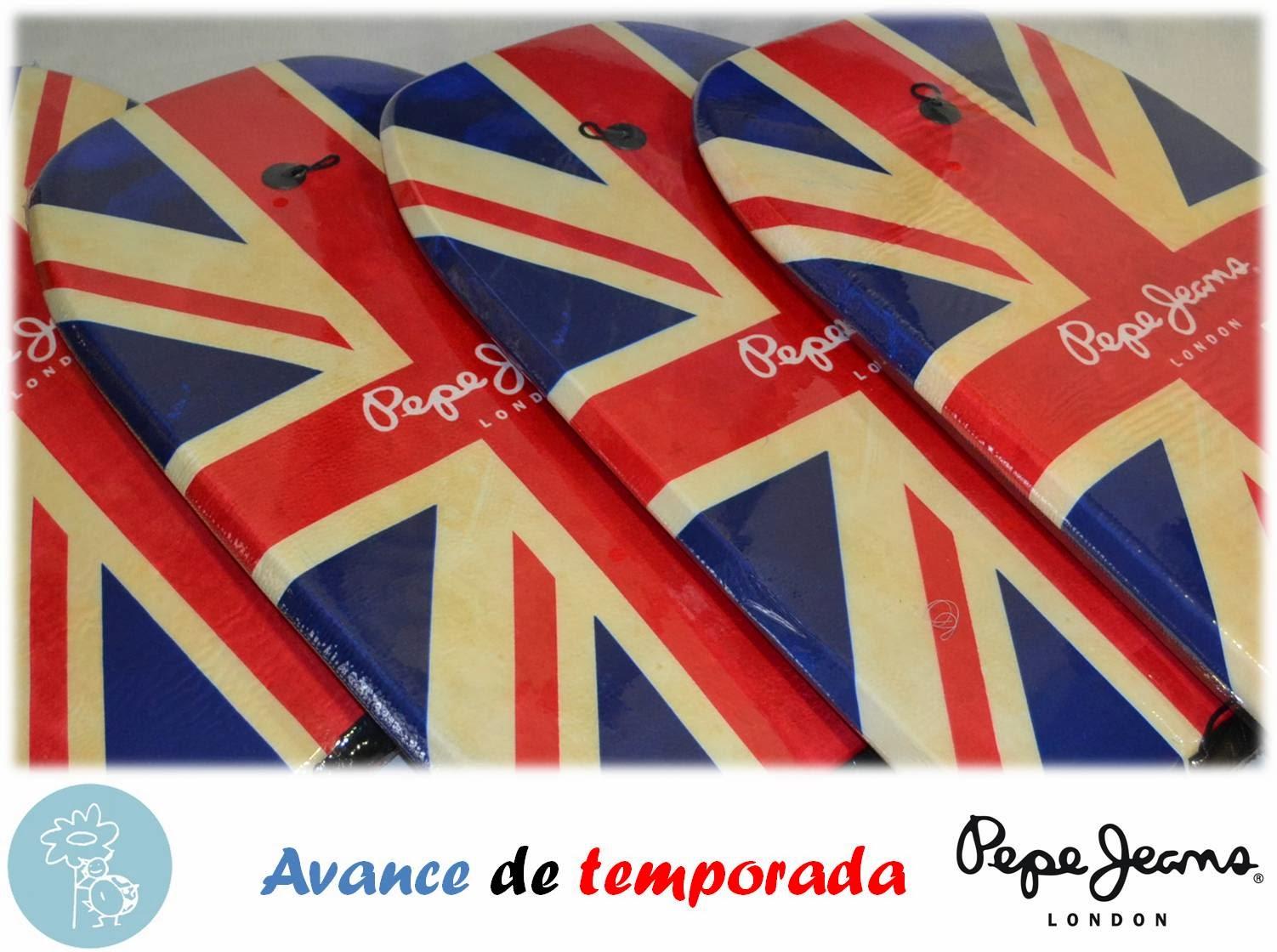 Pepe Jeans -Promoción Avance temporada, Bodyboard-