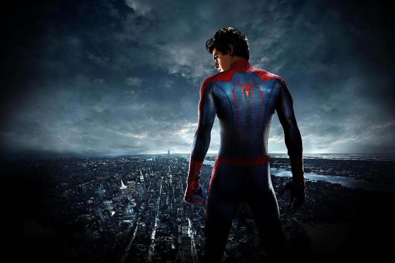 6 Spiderman HD Widescreen Wallpaper