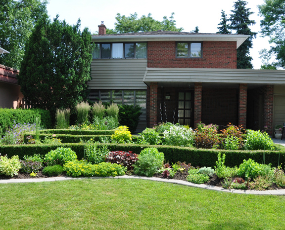 Landscaping front garden bed ideas australia for Front garden designs australia