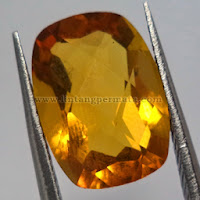 Batu Permata Natural Golden Citrine